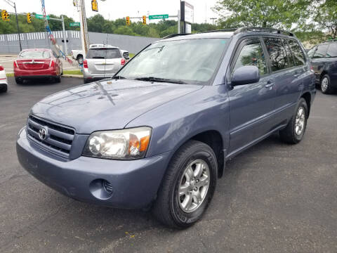 2006 Toyota Highlander for sale at Cedar Auto Group LLC in Akron OH