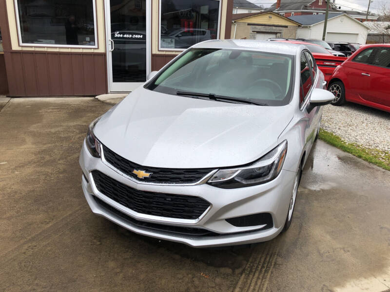 2018 Chevrolet Cruze for sale at ADKINS PRE OWNED CARS LLC in Kenova WV