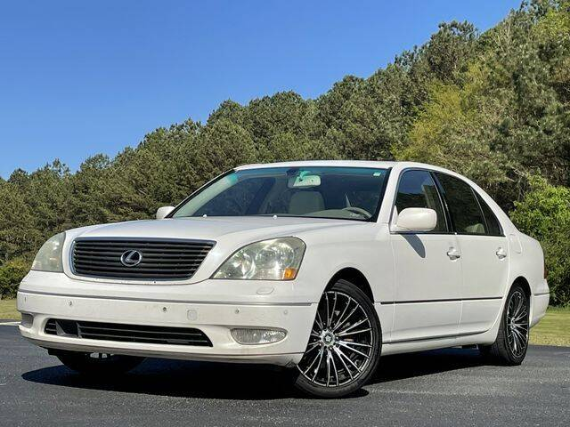 2002 Lexus LS 430 for sale at Global Pre-Owned in Fayetteville GA