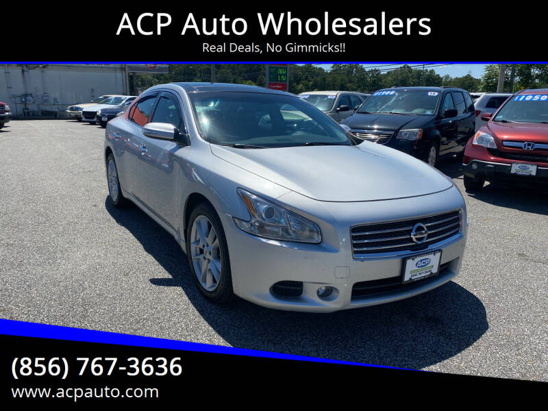 2011 Nissan Maxima for sale at ACP Auto Wholesalers in Berlin NJ