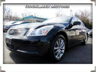 2008 Infiniti G35 for sale at Rockland Automall - Rockland Motors in West Nyack NY