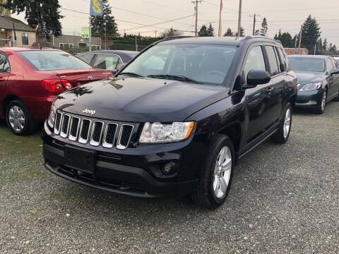 2011 Jeep Compass for sale at A & V AUTO SALES LLC in Marysville WA
