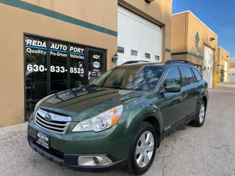 2010 Subaru Outback for sale at REDA AUTO PORT INC in Villa Park IL
