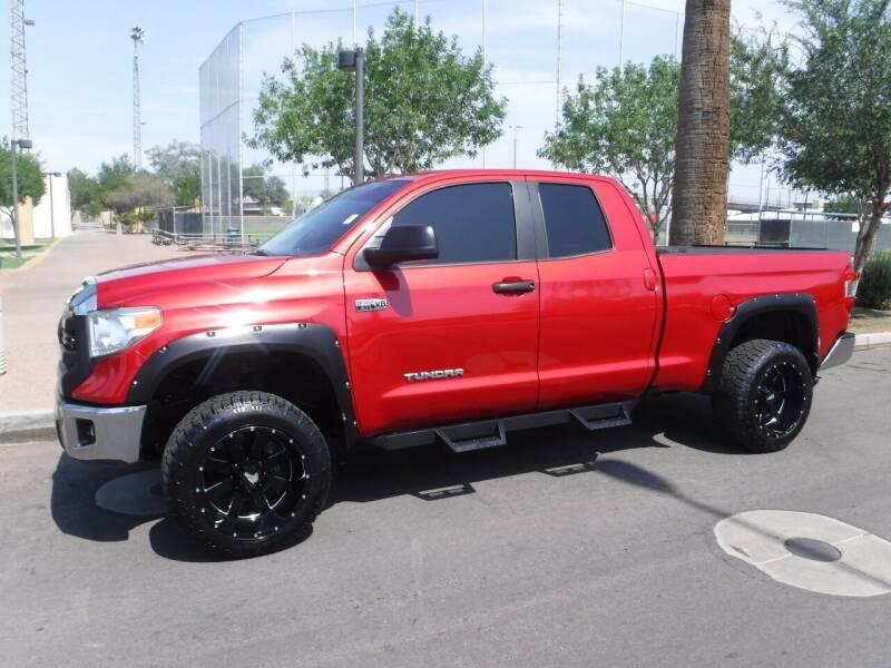 2014 Toyota Tundra for sale at J & E Auto Sales in Phoenix AZ