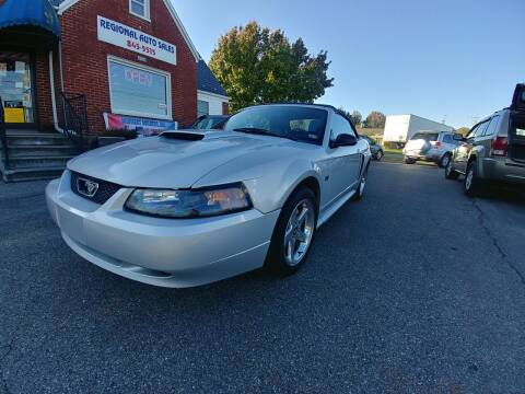 2003 Ford Mustang for sale at Regional Auto Sales in Madison Heights VA