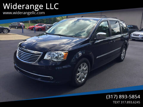 2011 Chrysler Town and Country for sale at Widerange LLC in Greenwood IN