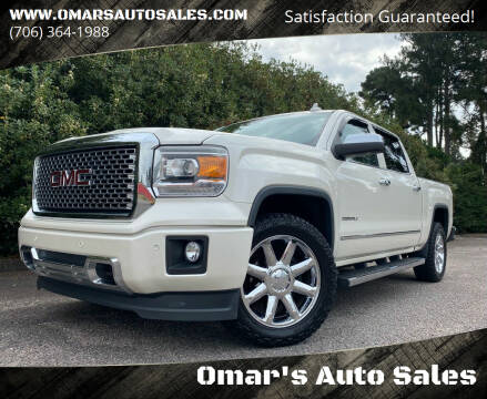2015 GMC Sierra 1500 for sale at Omar's Auto Sales in Martinez GA