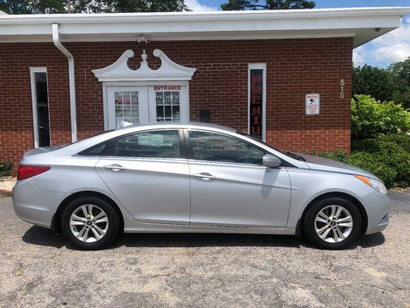 2012 Hyundai Sonata for sale at Premium Auto Sales in Fuquay Varina NC