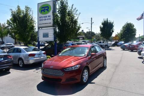 2014 Ford Fusion for sale at Rite Ride Inc in Murfreesboro TN
