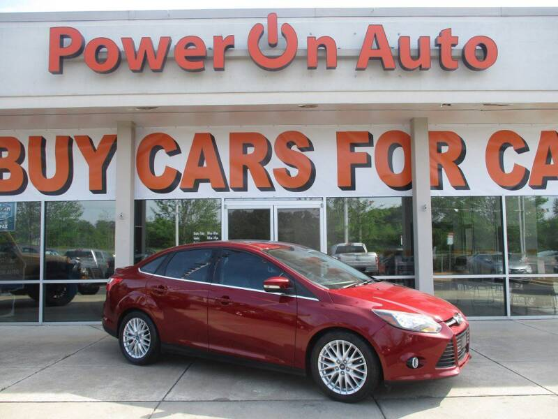 2013 Ford Focus for sale at Power On Auto LLC in Monroe NC