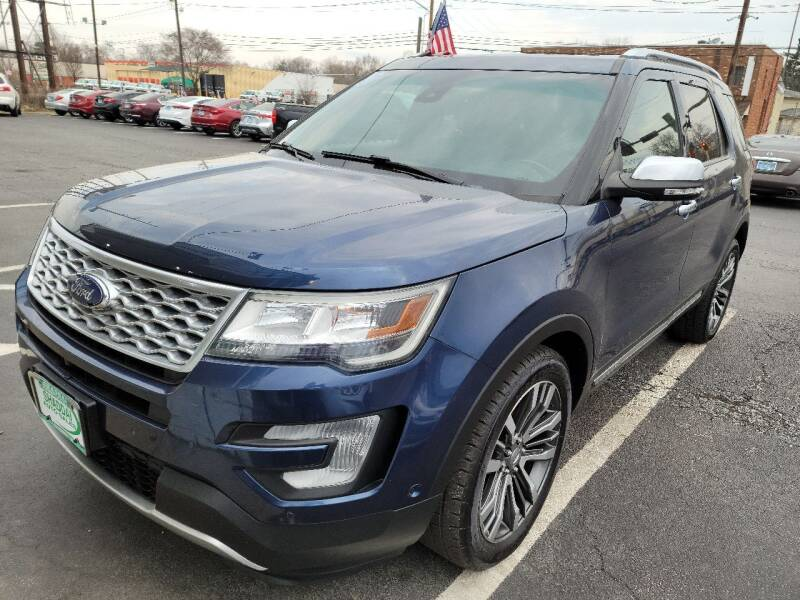 2016 Ford Explorer for sale at Shaddai Auto Sales in Whitehall OH