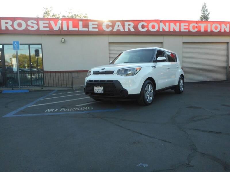 2016 Kia Soul for sale at ROSEVILLE CAR CONNECTION in Roseville CA