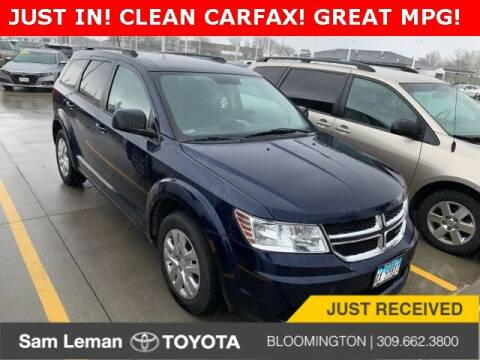 2017 Dodge Journey for sale at Sam Leman Toyota Bloomington in Bloomington IL