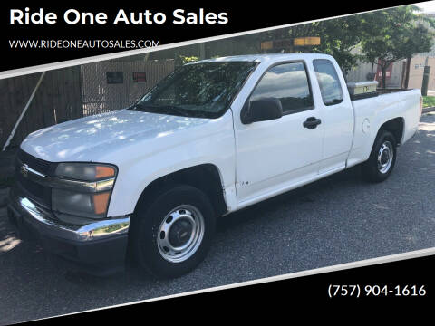 2006 Chevrolet Colorado for sale at Ride One Auto Sales in Norfolk VA