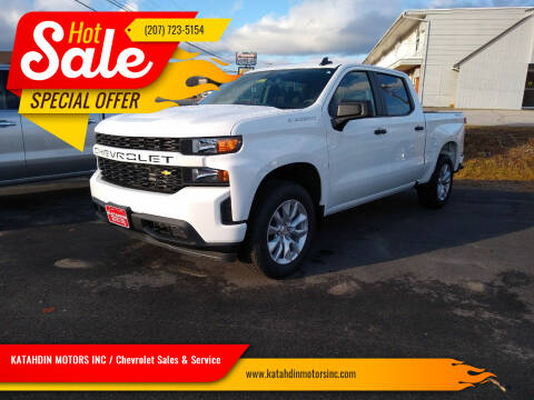 2020 Chevrolet Silverado 1500 for sale at KATAHDIN MOTORS INC /  Chevrolet Sales & Service in Millinocket ME