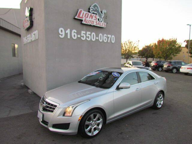 2014 Cadillac ATS for sale at LIONS AUTO SALES in Sacramento CA