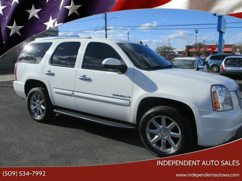 2007 GMC Yukon for sale at Independent Auto Sales #2 in Spokane WA
