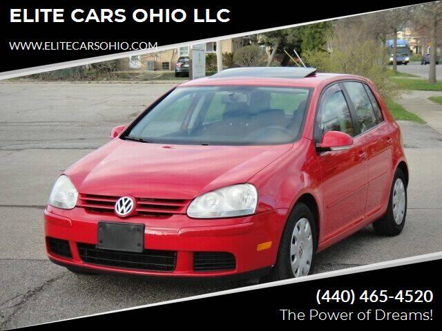 2008 Volkswagen Rabbit for sale at ELITE CARS OHIO LLC in Solon OH