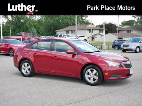 2014 Chevrolet Cruze for sale at Park Place Motor Cars in Rochester MN
