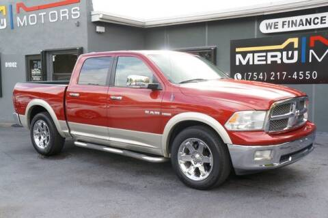 2009 Dodge Ram Pickup 1500 for sale at Meru Motors in Hollywood FL