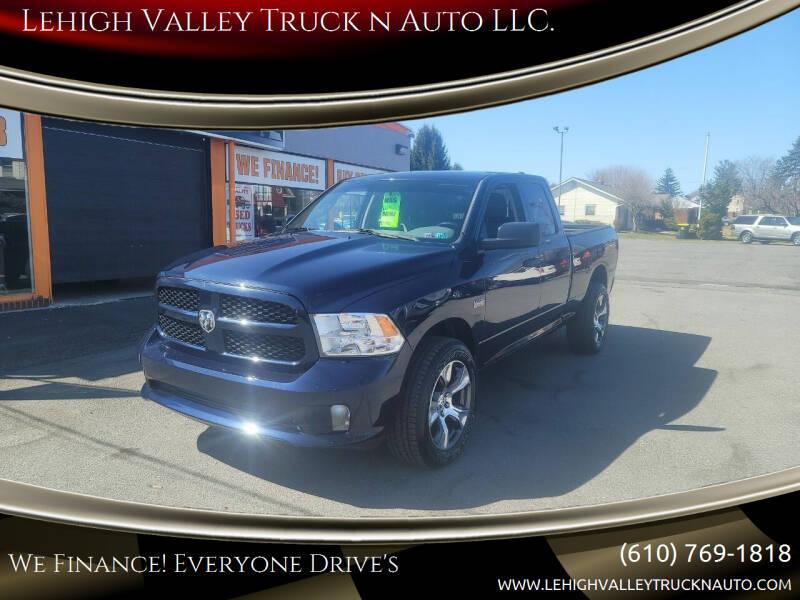 2013 RAM Ram Pickup 1500 for sale at Lehigh Valley Truck n Auto LLC. in Schnecksville PA