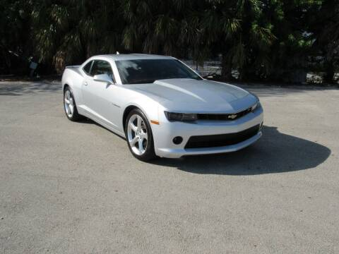 2015 Chevrolet Camaro for sale at United Auto Center in Davie FL