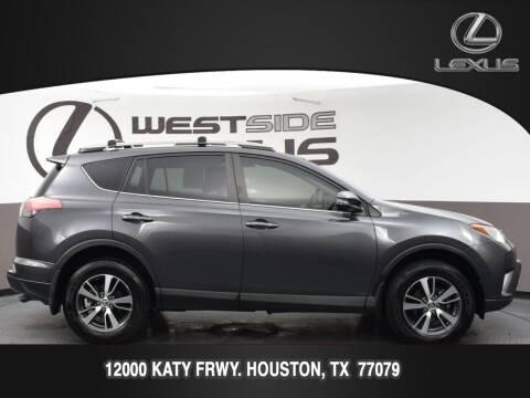 2018 Toyota RAV4 for sale at LEXUS in Houston TX