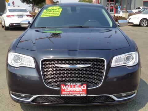 2017 Chrysler 300 for sale at Vallejo Motors in Vallejo CA