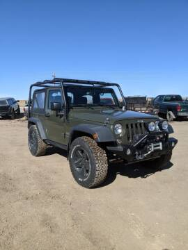 2015 Jeep Wrangler for sale at HORSEPOWER AUTO BROKERS in Fort Collins CO