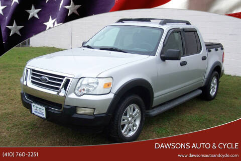 2010 Ford Explorer Sport Trac for sale at Dawsons Auto & Cycle in Glen Burnie MD