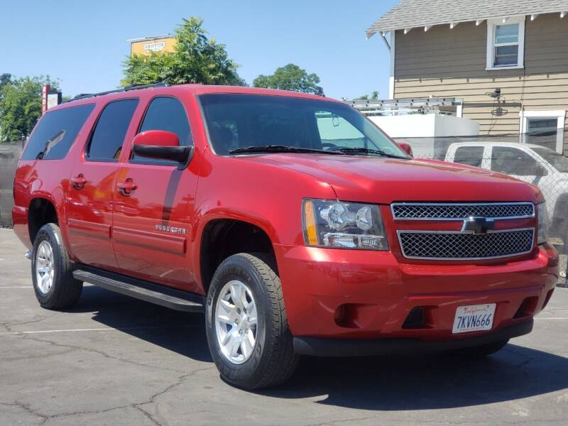 2013 Chevrolet Suburban for sale at First Shift Auto in Ontario CA
