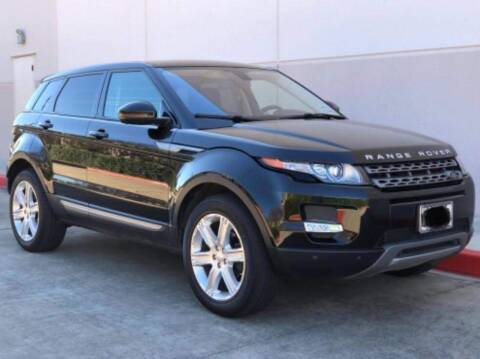 2015 Land Rover Range Rover Evoque for sale at Northtown Auto Center in Houston TX