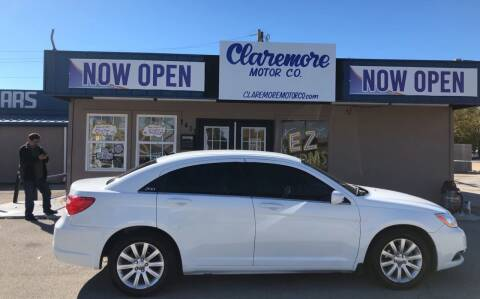 2012 Chrysler 200 for sale at Claremore Motor Company in Claremore OK