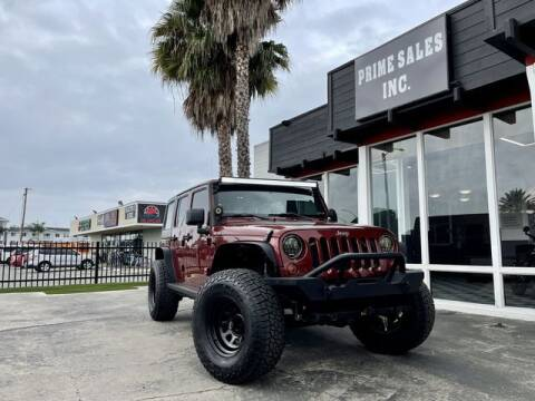2010 Jeep Wrangler Unlimited for sale at Prime Sales in Huntington Beach CA