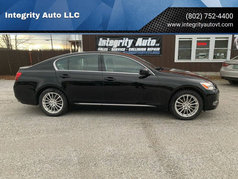 2006 Lexus GS 300 for sale at Integrity Auto LLC in Sheldon VT