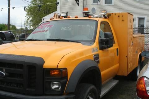 2008 Ford F-550 for sale at Urglavitch Auto Sales of NJ in Trenton NJ