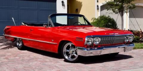 1963 Chevrolet Impala for sale at Sunshine Classics, LLC in Boca Raton FL