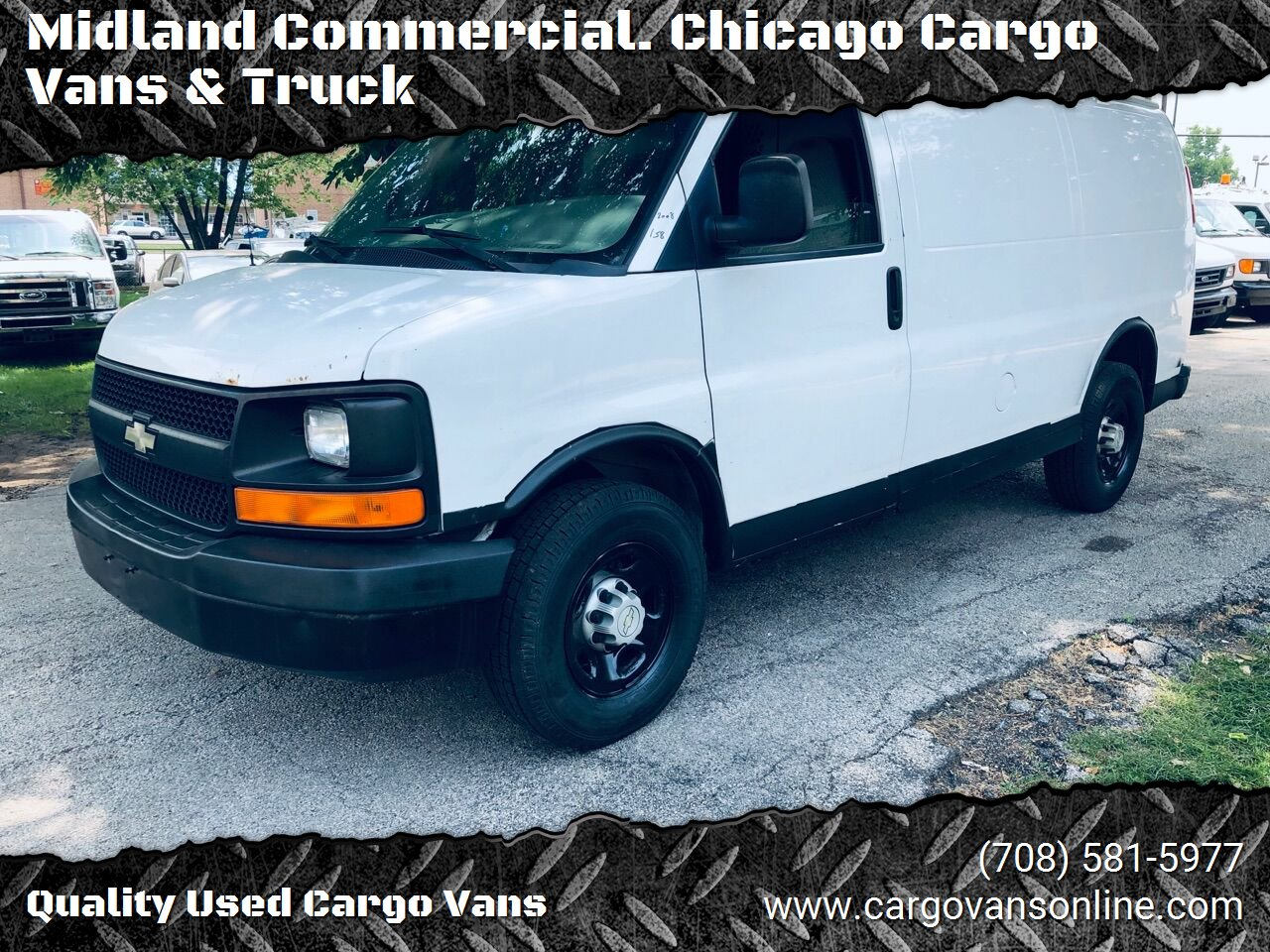 White 2008 CHEVROLET EXPRESS CARGO for sale in Bridgeview, IL