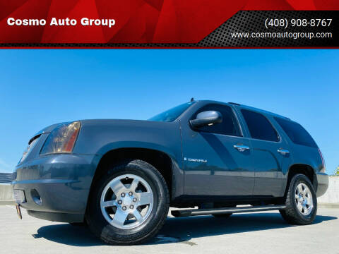 2008 GMC Yukon for sale at Cosmo Auto Group in San Jose CA