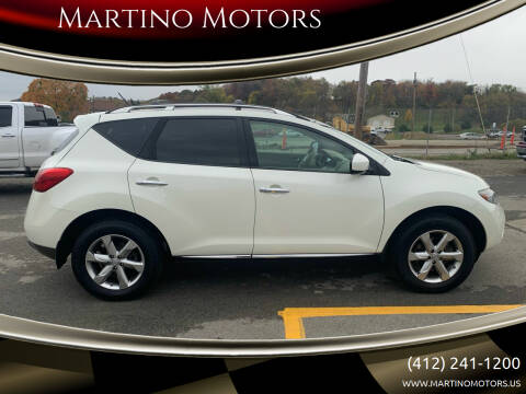2009 Nissan Murano for sale at Martino Motors in Pittsburgh PA
