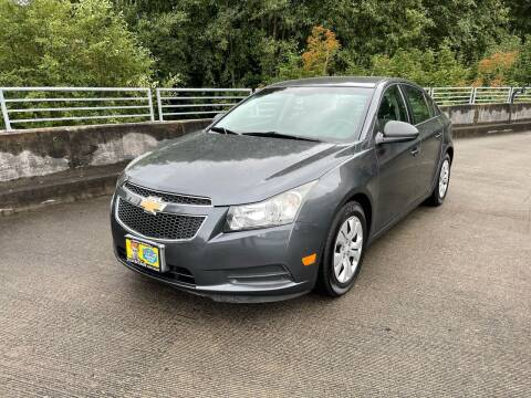 2013 Chevrolet Cruze for sale at Zipstar Auto Sales in Lynnwood WA