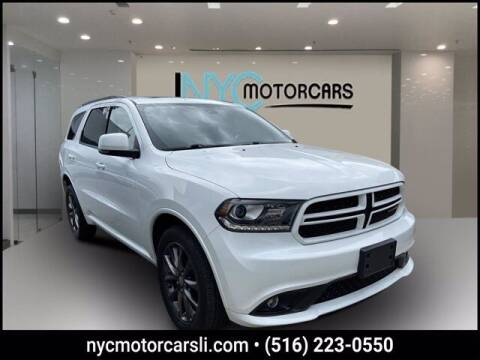 2018 Dodge Durango for sale at NYC Motorcars in Freeport NY