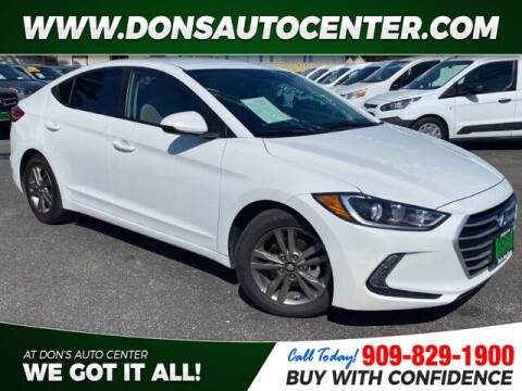 2017 Hyundai Elantra for sale at Dons Auto Center in Fontana CA