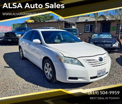 2007 Toyota Camry for sale at ALSA Auto Sales in El Cajon CA
