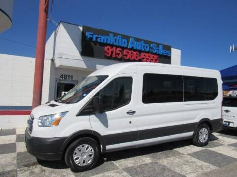 2016 Ford Transit Passenger for sale at Franklin Auto Sales in El Paso TX