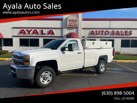 2016 Chevrolet Silverado 2500HD for sale at Ayala Auto Sales in Aurora IL