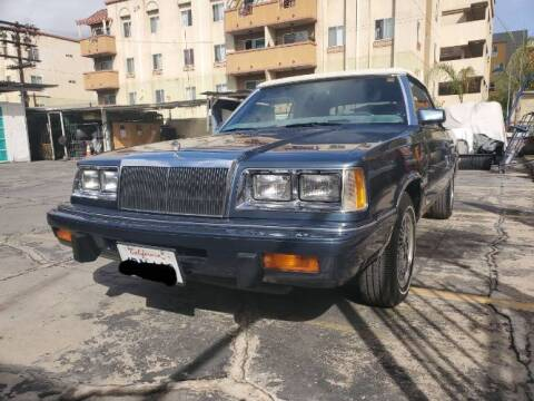 1986 Chrysler Le Baron for sale at Classic Car Deals in Cadillac MI