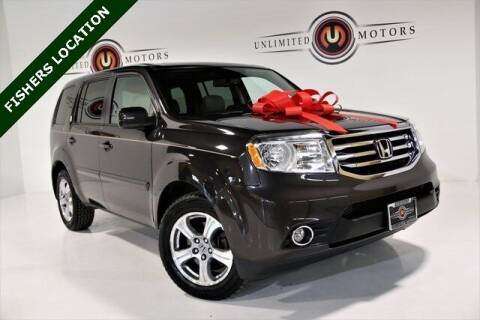 2014 Honda Pilot for sale at Unlimited Motors in Fishers IN
