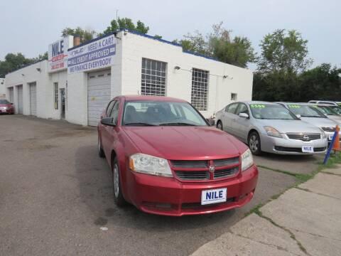 2008 Dodge Avenger for sale at Nile Auto Sales in Denver CO