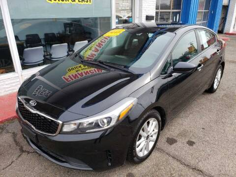 2017 Kia Forte for sale at AutoMotion Sales in Franklin OH